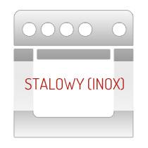 Piekarniki w kolorze stalowym (inox)