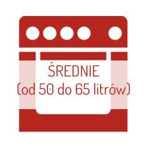 Piekarniki średnie (od 50 do 65 litrów)