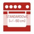 Piekarnik duży (powyżej 65 litrów) w kolorze czarnym standardowy (60 cm)