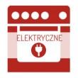 Piekarnik elektryczny klasa energetyczna A w kolorze białym